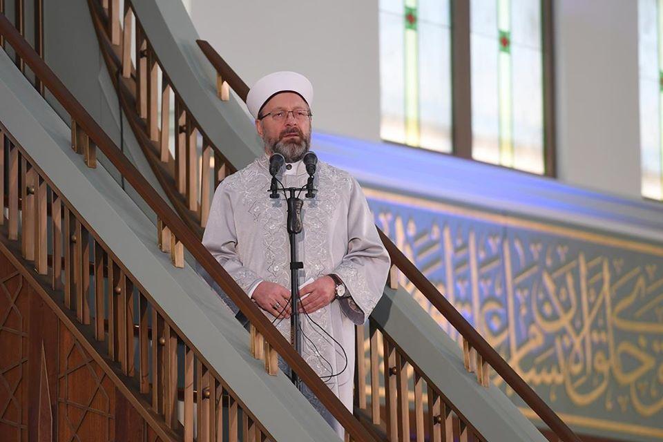 وزير الشؤون الدينية عربش