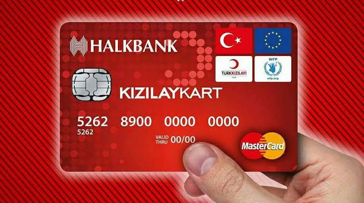 كرت الهلال الأحمر في تركيا