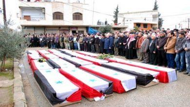 صورة خلال 24 ساعة جثـ.ـث ميليـ.ـشيات الأسد تنتـ.ـشر بشكل مخـ.ـيف في حماة ودير الزور
