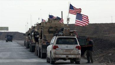 صورة إرسال مئـ.ـات الجنـ.ـود الأمريكـ.ـيين عبر حـ.ـوامات إلى محافظة الحسكة السورية