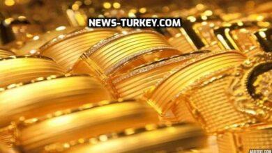 صورة الذهب في سورياوتركيا اليوم