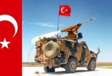 """صورة بالفيديو…اختبار إطـ.ـلاق صـ.ـواريخ من منـ.ـظومة """"SUNGUR"""" التركية الحديثة"""