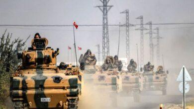 صورة قـ.ـوات تركية ضـ.ـخمة تصل إلى مناطق في محافظة حلب السورية