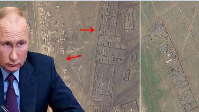 صورة عاجـــــــــل/ تسريب خطة بوتين للحرب الكبرى مع أوكرانيا